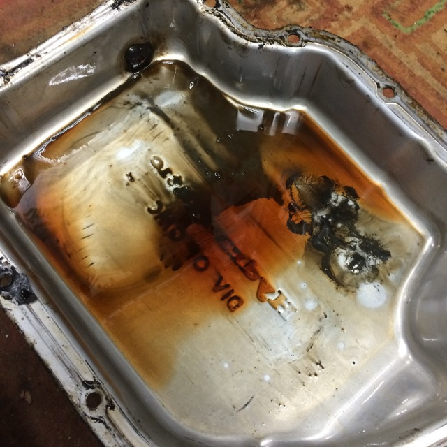 My old GM400 gearbox, the autopsy       warning , graphic im