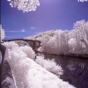 Ironbridge in Infrared