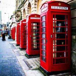 Blackpool Phone Boxes